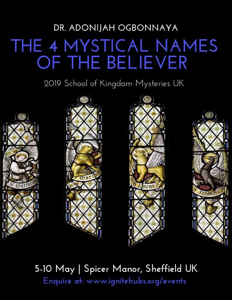 SOKM UK: THE 4 MYSTICAL NAMES OF THE BELIEVER<span>MAY 5-10, 2019 SHEFFIELD, UK</span>