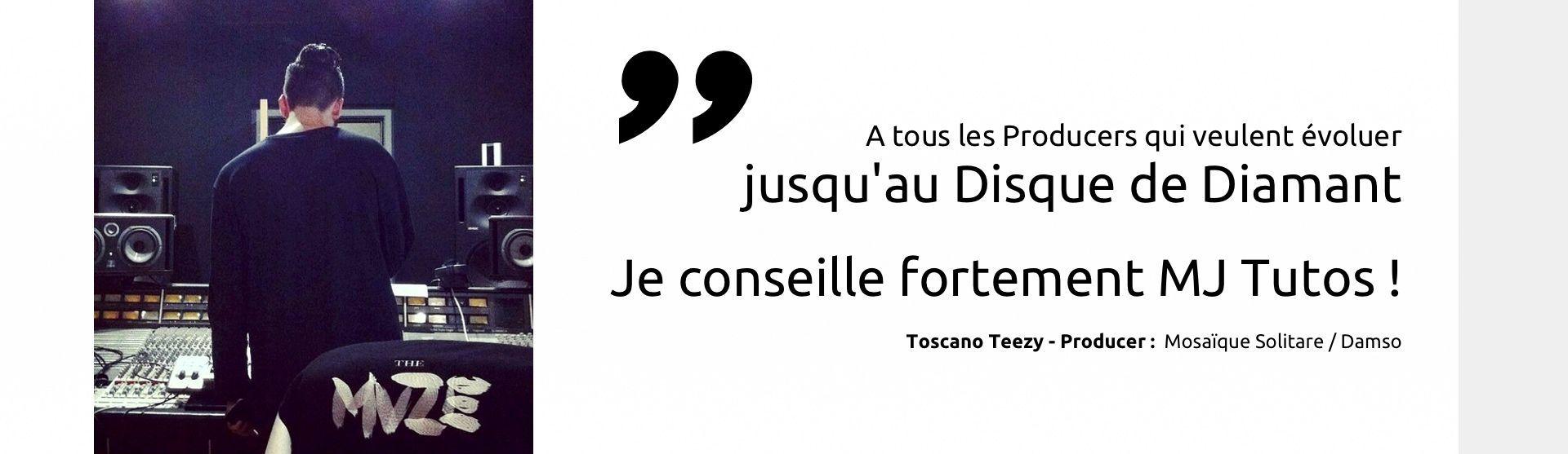 Toscano Teezy <span>recommande MJ Tutoriels</span>