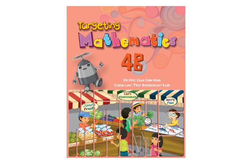 Targeting Mathematics Textbook 4B<span></span>