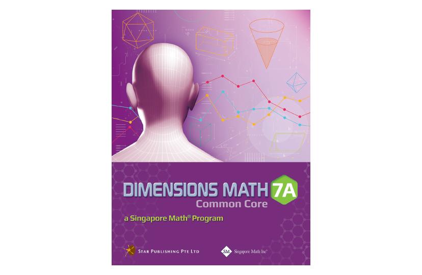 Dimensions Math Common Core Textbook 7A<span></span>