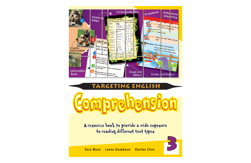 Targeting English Comprehension Book 3<span></span>
