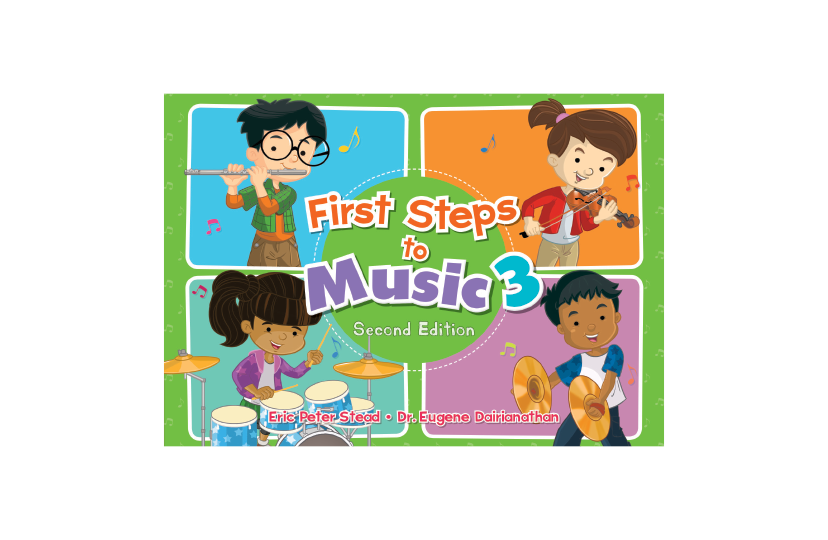 First Steps to Music Primary 3 Textbook (2nd Edition)<span></span>