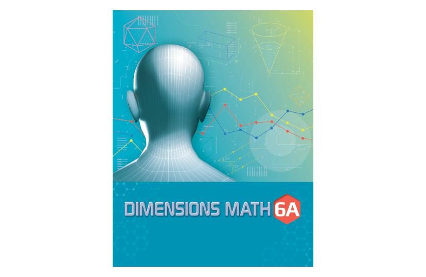 Dimensions Math Common Core Textbook 6A<span></span>