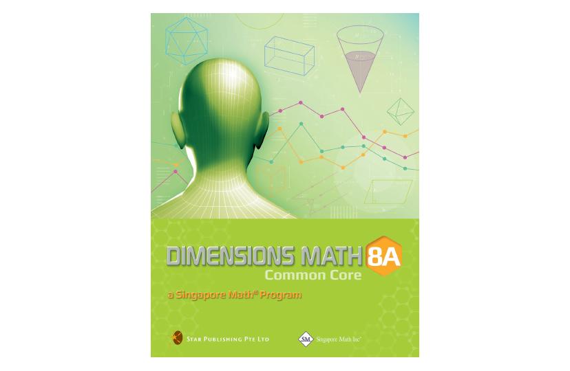 Dimensions Math Common Core Textbook 8A<span></span>