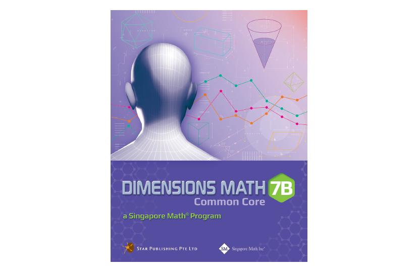 Dimensions Math Common Core Textbook 7B<span></span>