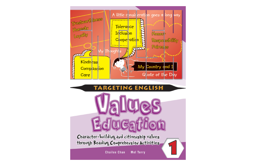 Targeting English Values Education Book 1<span></span>